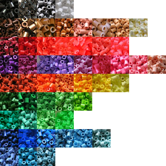 the beadsprites forum perler color pallete for photoshop