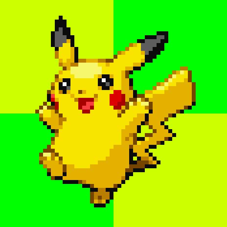 Pokemon Original Pikachu Sprite - Hot Girls Wallpaper